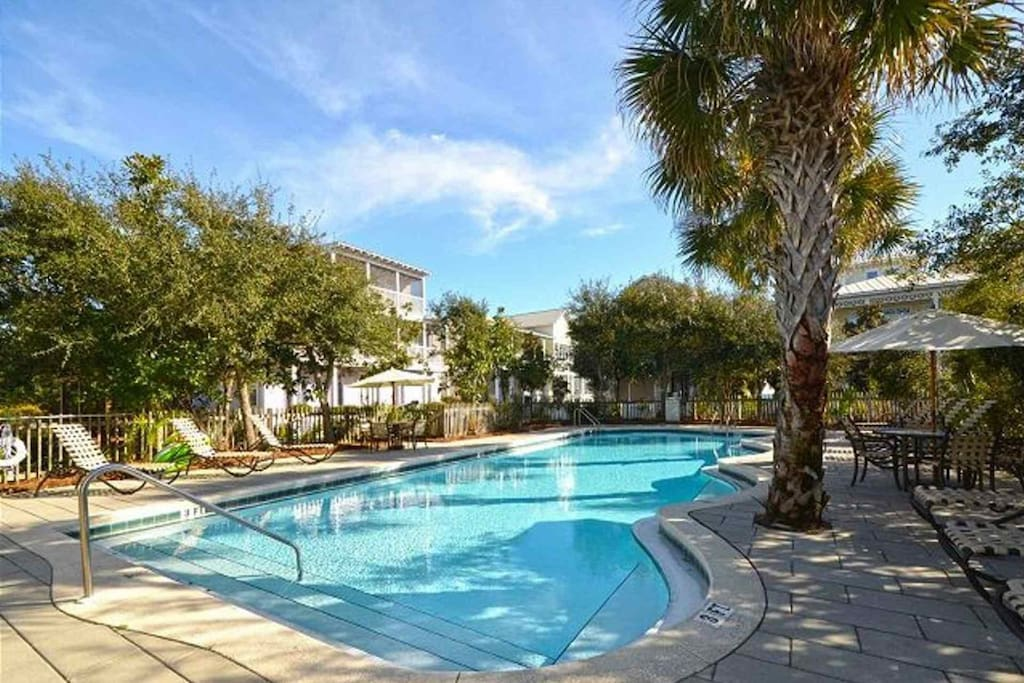 Community Pool only a Block Away from Limoncello Family Beach Home in Summer's Edge Community of Seagrove Beach, Florida