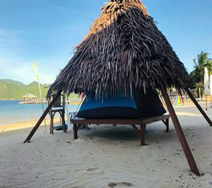 Pangulatan Beach Resort NATIVE Camp Tent