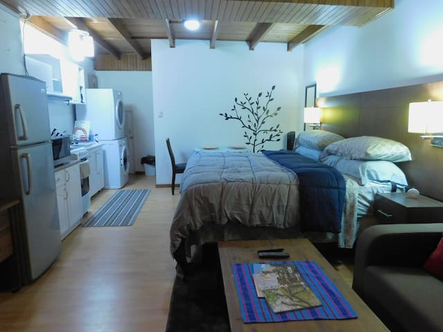 Modern Studio Loft Apt King Bed 10 min frm airport