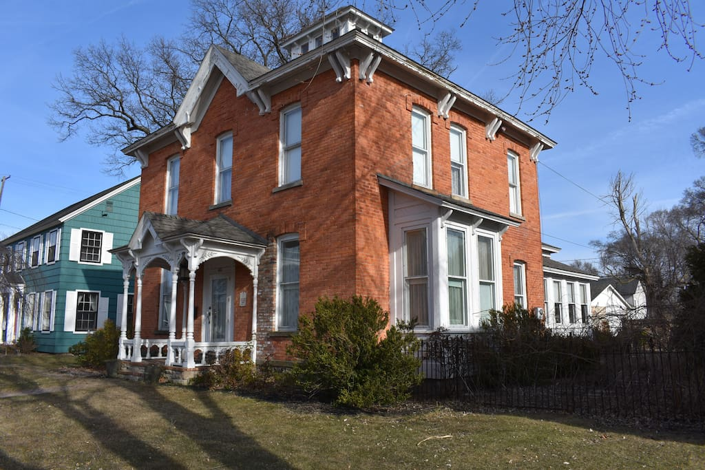 461 W. Webster Ave in the historic Nelson neighborhood of Muskegon.