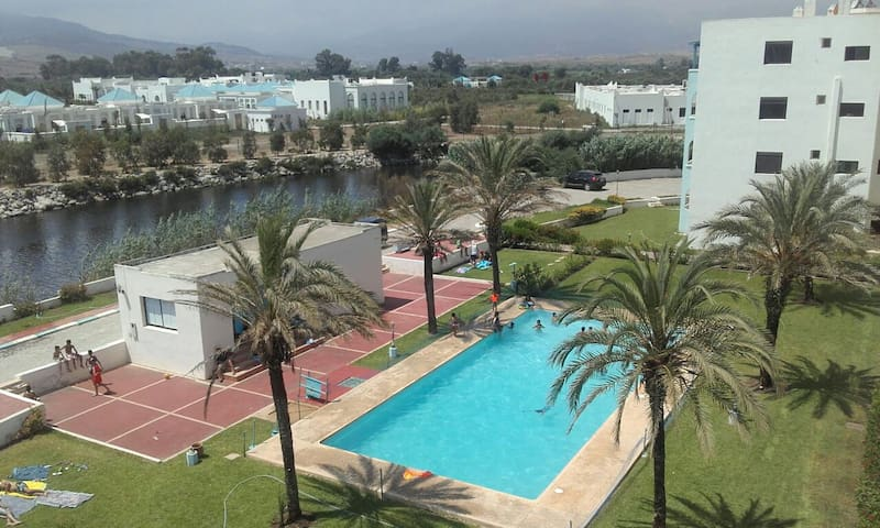 Appt spacieuse 80 m² 2 min Plage Eden plage - Fnideq - Apartment
