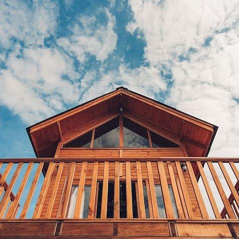 Refúgio da Montanha - o Céu e uma Cabana Loft