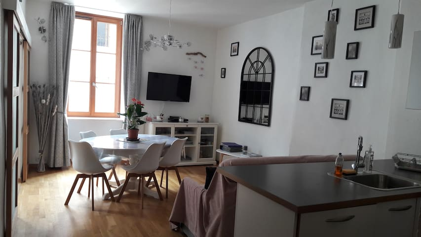 Appartement cosy centre ville annecy avec garage for Garage ford annecy 74