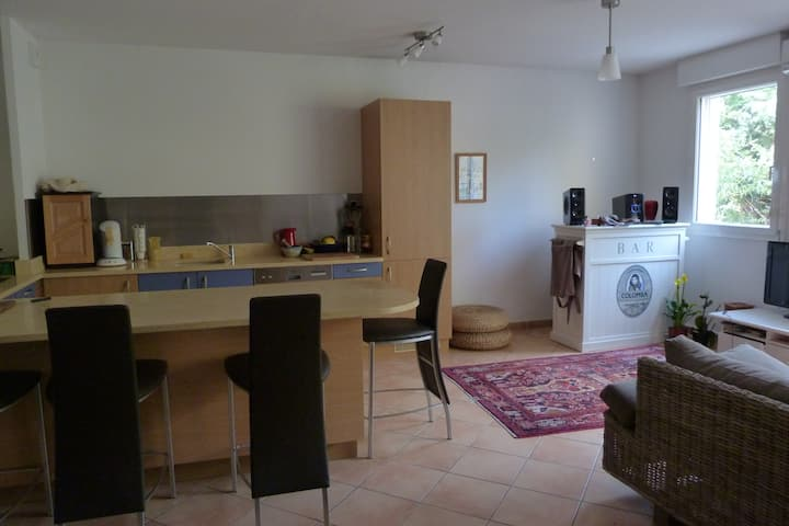 appartement 80 m2 + jardin centre de Martigues