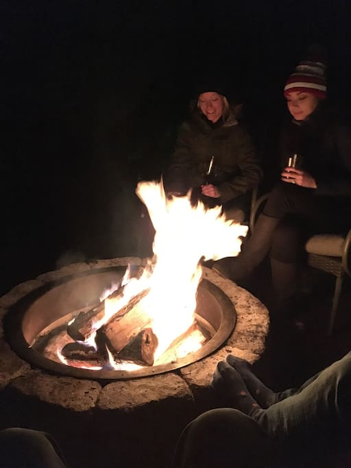 Enjoy great times around the fire pit!