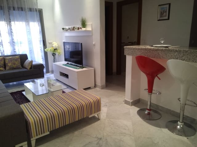 Superbe deux pièces  meublé neuf