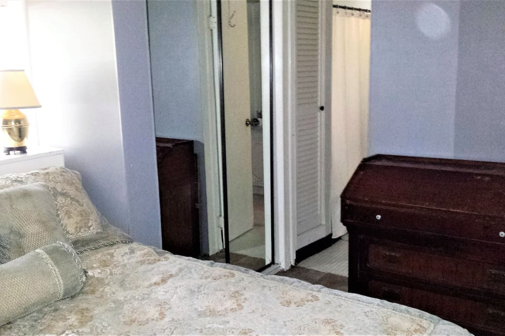 Bedroom with Private Door to Restroom