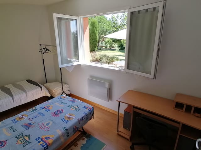 2éme Chambre avec 2 lits
