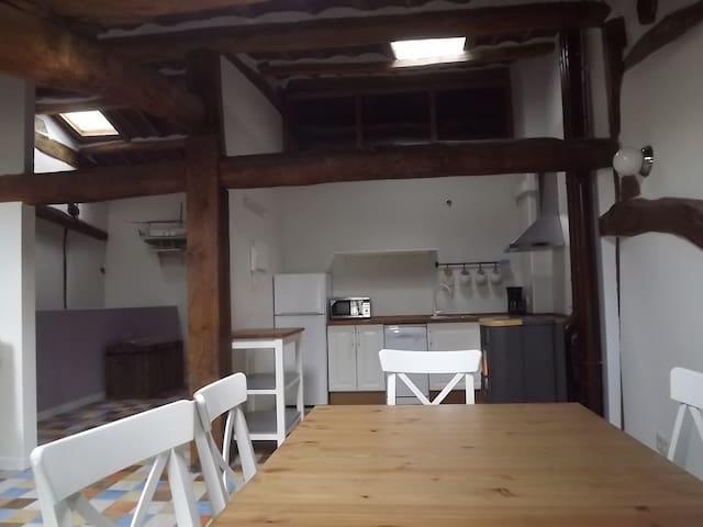 Apartamento de 2 habitaciones para 4 personas - Santo Domingo de la Calzada