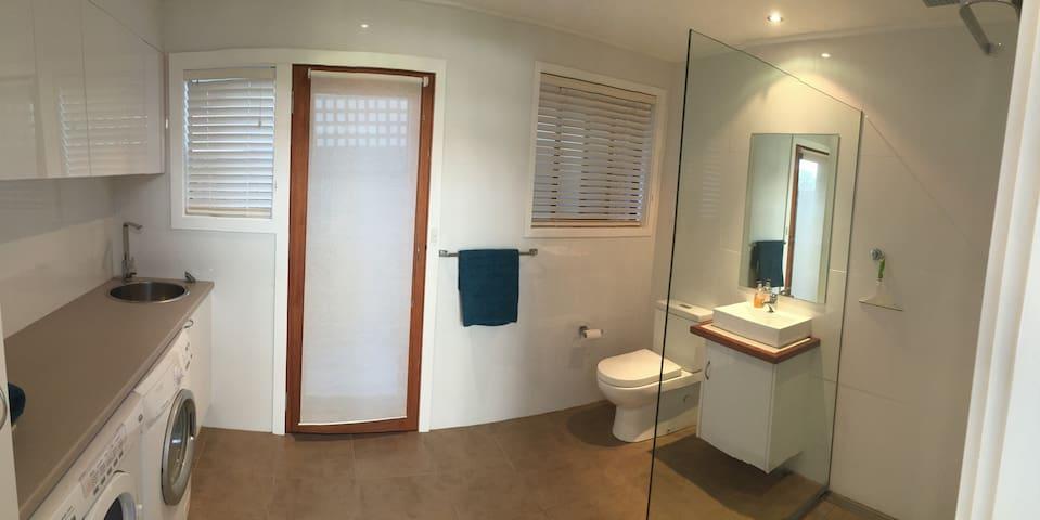 Bathroom 3 and laundry