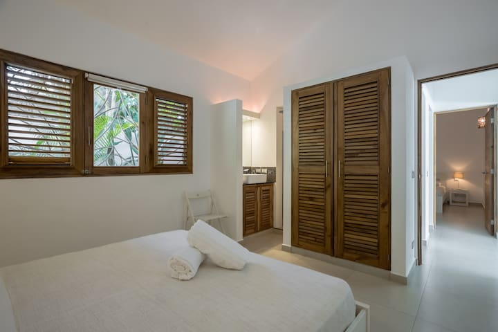 2nd bedroom with bathroom