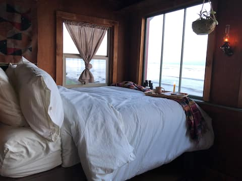 Halibut Hole Beach Front Cabin