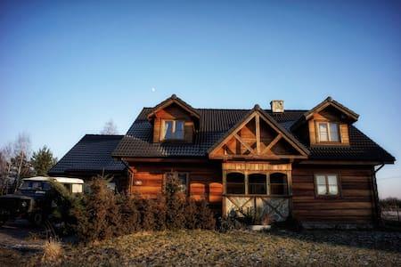 Dom na wsi niedaleko Wrocławia :) - Czernica - Rumah