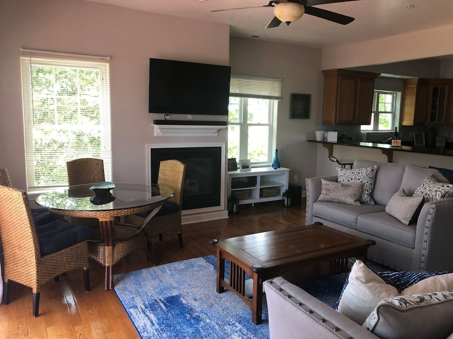 Living Room with Additional Dining Area