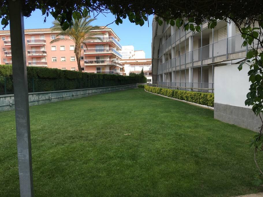Zonas comunes, jardin.