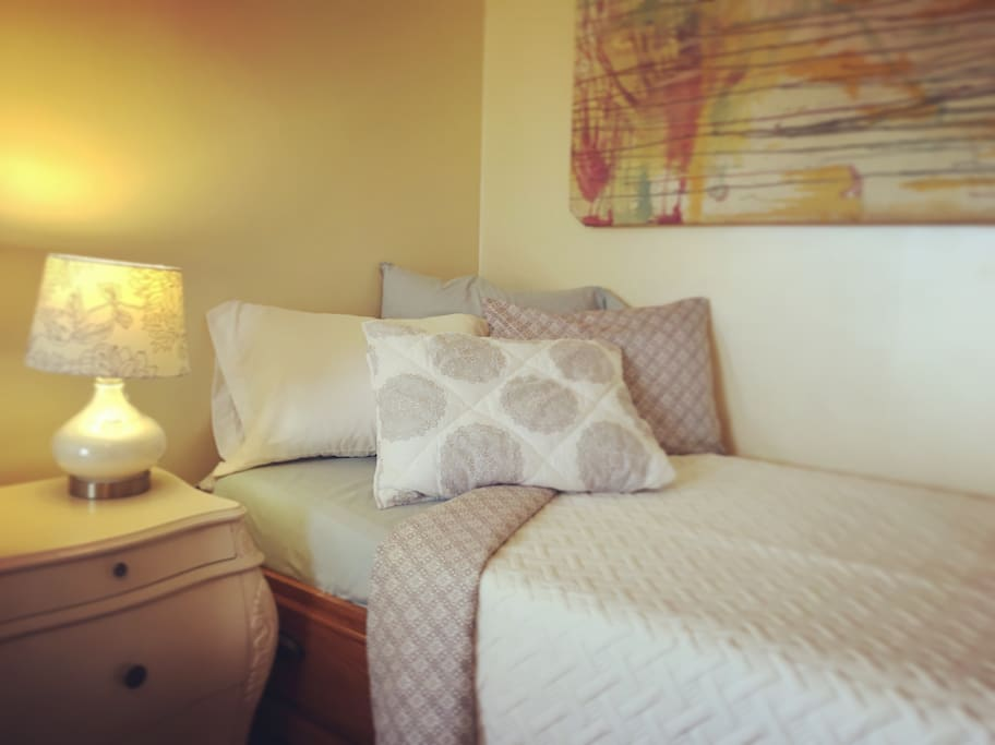 Twin Bed to accommodate an additional companion