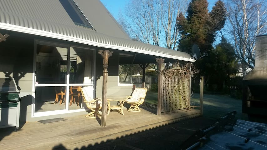 pefect ski/fishing /hiking lodge - Turangi - Casa