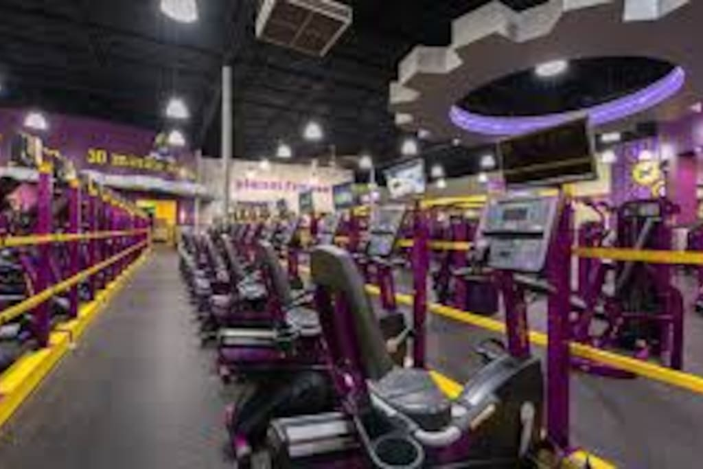 Planet Fitness in the Community