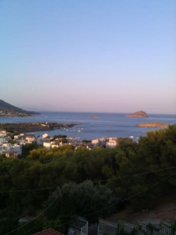 House with breathtaking view! - Porto Rafti - Ev