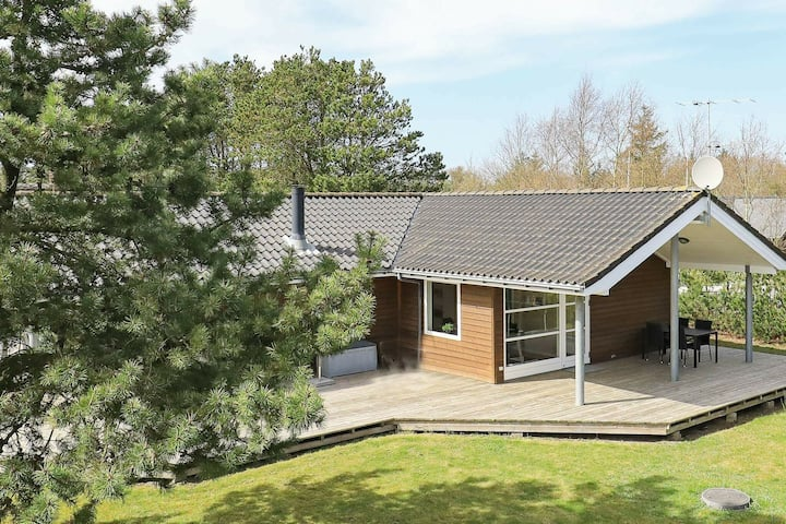 Luxury Holiday Home in Ulfborg With Energy-saving Heat Pump