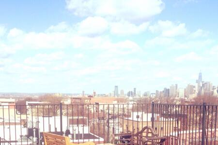 Amazing view from a private roof! - Brooklyn - Apartment