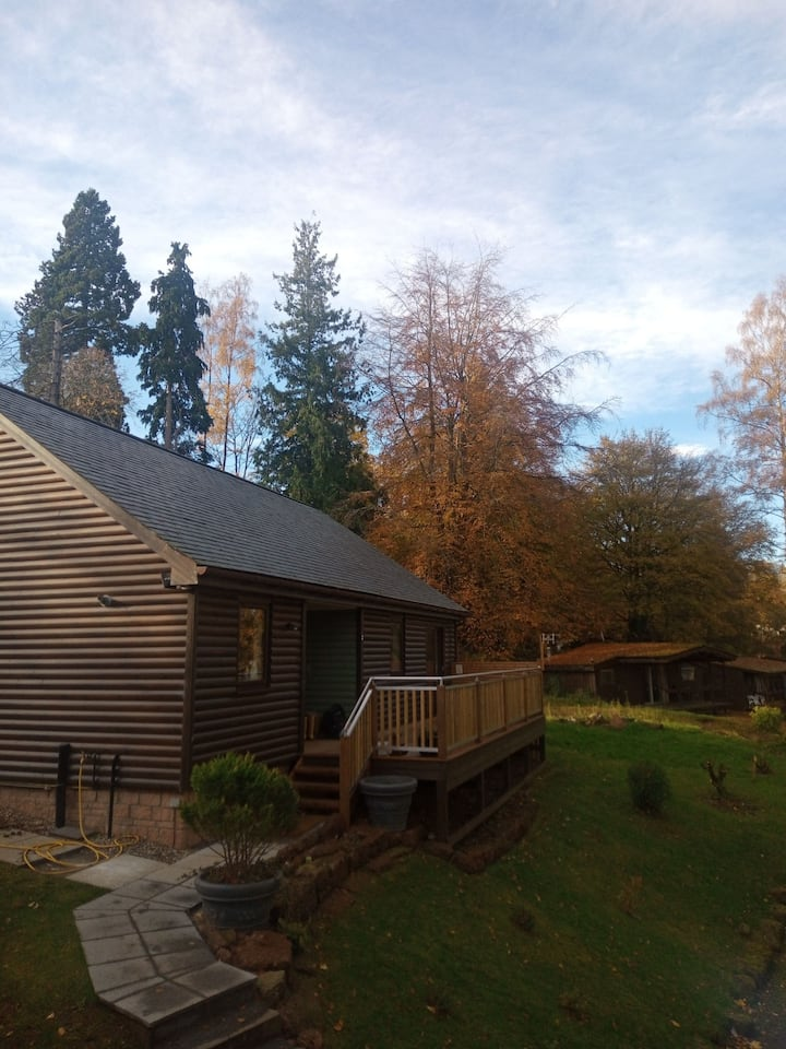 Blairgowrie cabin getaway nestled in the trees