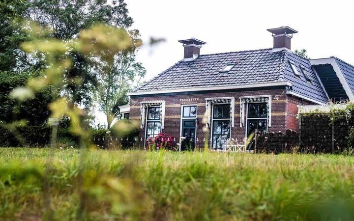 Eenpersoonskamer incl. ontbijt vlakbij Leeuwarden