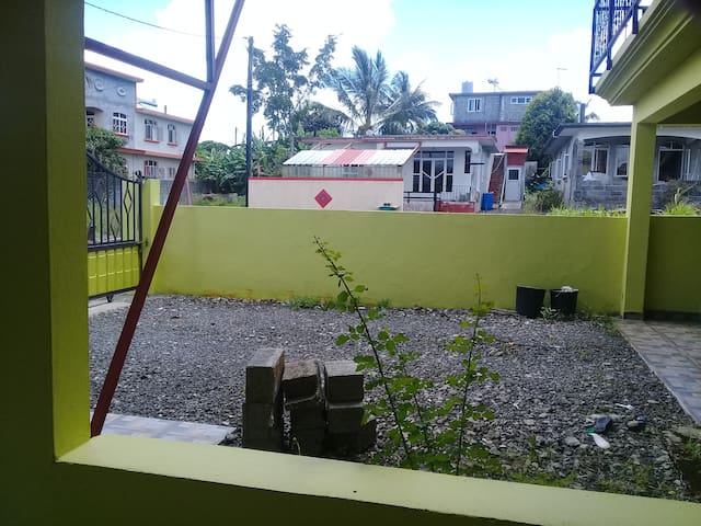 Green house groundfloor