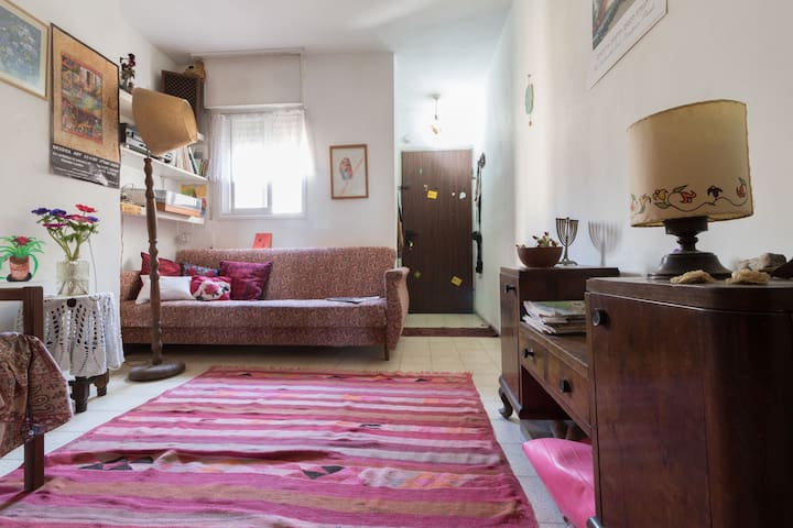 Room in apt. with one flatmate and a dog - Gerusalemme - Appartamento