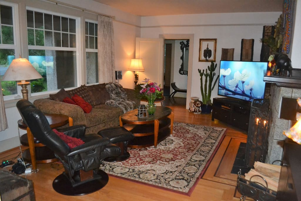 Additional view of the warm and comfortable living room.