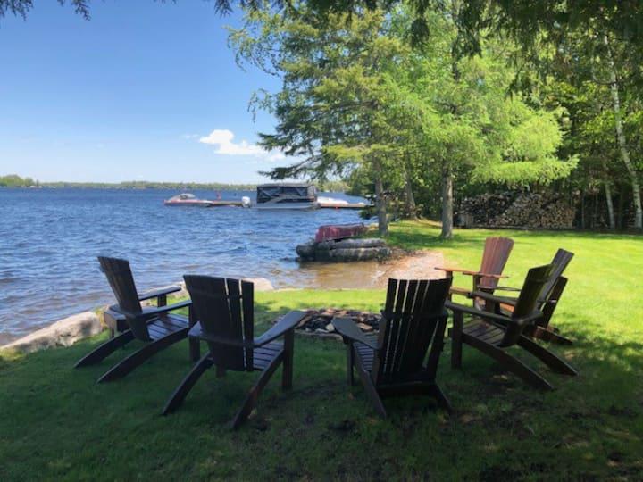 Sturgeon Lake Waterfront Home