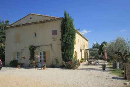 B&B nabij de Mont-Ventoux - Mirabel-aux-Baronnies - Bed & Breakfast