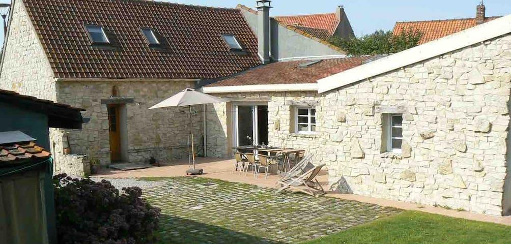 Belle maison de vacances - Beuvrequen