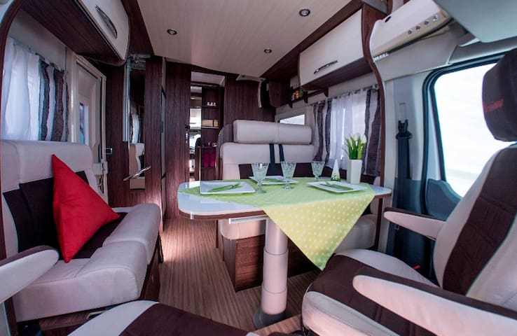New luxury fully equipped motorhome! New concept!!