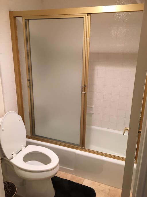 Private Bathroom for Guests (Separate Toilet & Shower)