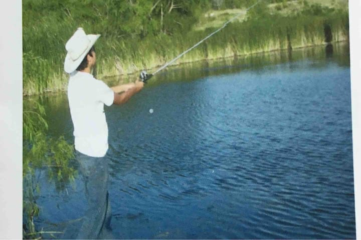 Fishing on the Ranch