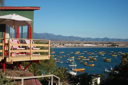 Cabaña para 2 personas espectacular vista al mar - Tongoy