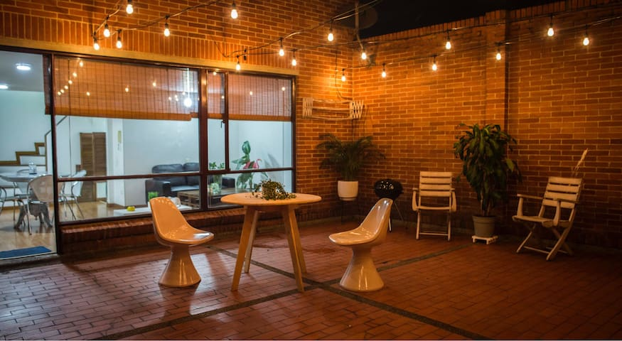 Cozy apartment with a great private terrace! - Bogotá - Appartamento