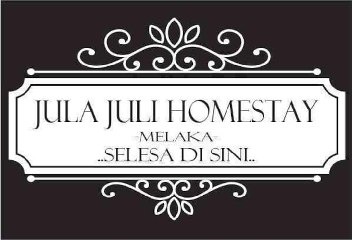 Melaka Homestay julajulihomestay (4 aircond rooms)