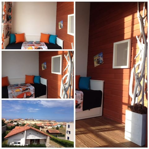 "APPARTEMENT "" LE NEPTUNE"" CONTIS PLAGE - Saint-Julien-en-Born - Apartament"