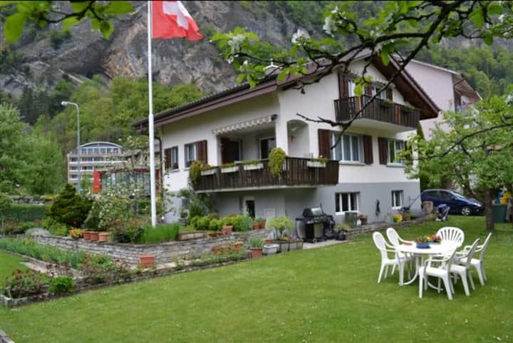 Gemütliche Ferienwohnung im Herzen von Interlaken
