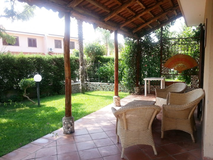 Villa with garden in a private residence in Pizzo