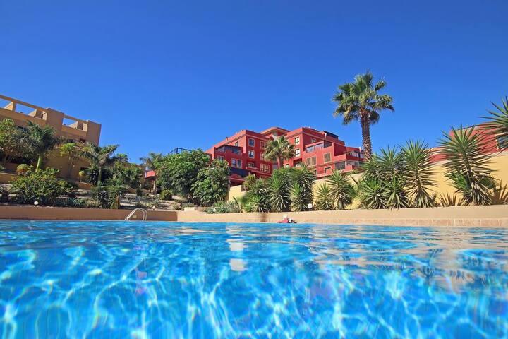 La Perla. Apartamento C16, El Medano, Tenerife.