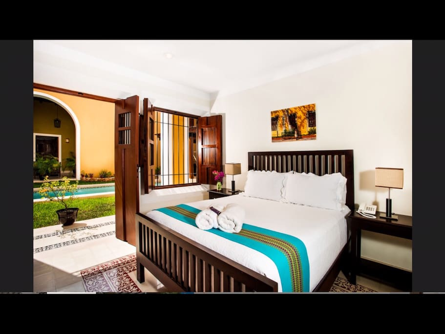 Luxury boutique 3 bedroom suite boutique hotels for rent for Hotel luxury merida