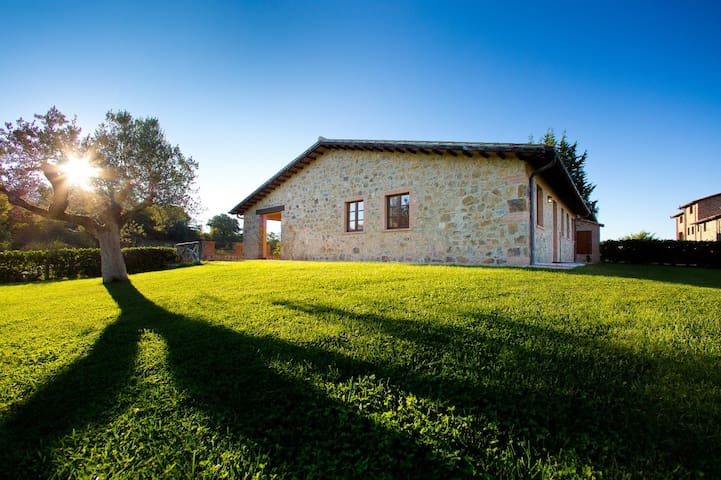 2 bedroom farmhouse in Scansano - Montorgiali - Lejlighed