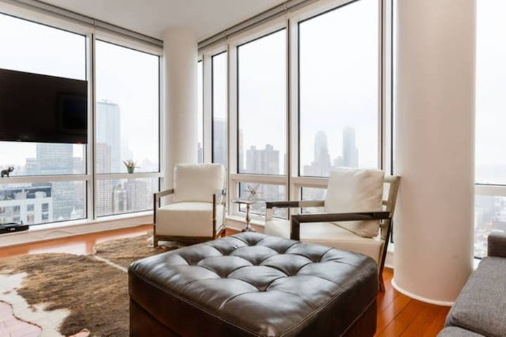 Luxury Times Sq Glass Sky Apartment - New York - Apartemen