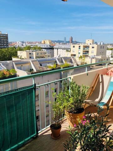 Monplaisir - Appartement cosy, lumineux, confort.
