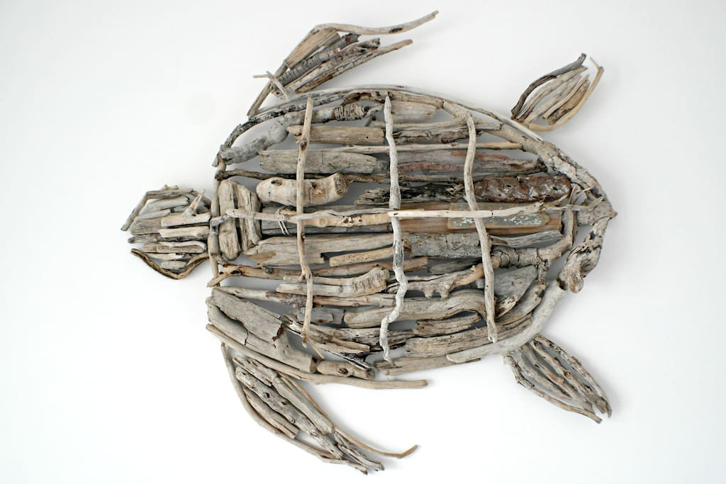 Driftwood sea turtle handmade with love :)