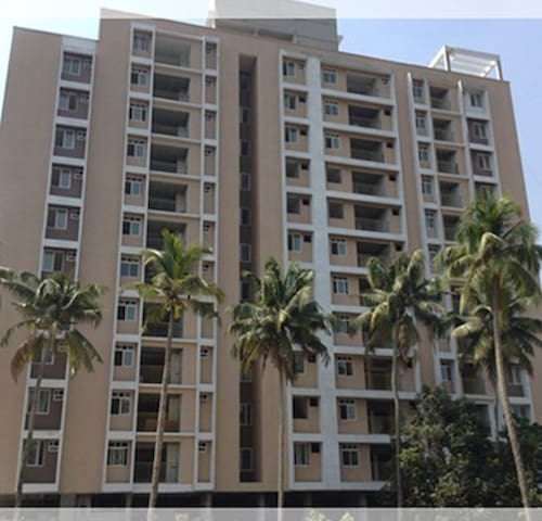 Apartment for rent close to Oberon and Lulu Mall - Kochi - Appartement