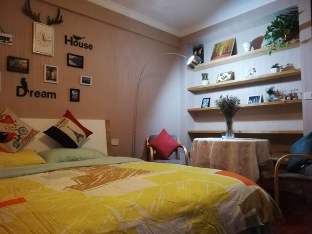 梦享家-公寓/丽水繁华商业街北端景区入口豪华居室